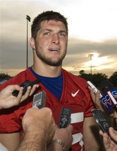 Tim Tebow Uses Personal Hyperbaric Chambers